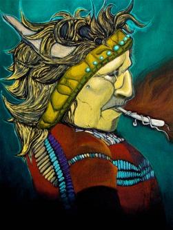 James-Vernon-Untitled Native American